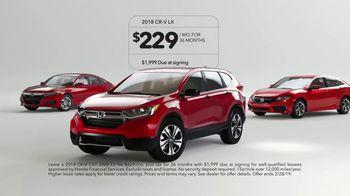 Honda Valentine Sale TV Spot, 'Get it Yourself' [T2] - Thumbnail 10