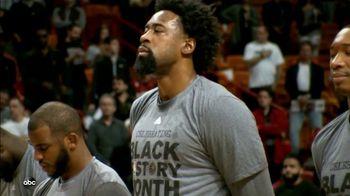 NBA TV Spot, 'ABC: Black History Month' Featuring Tyson Chandler - Thumbnail 6