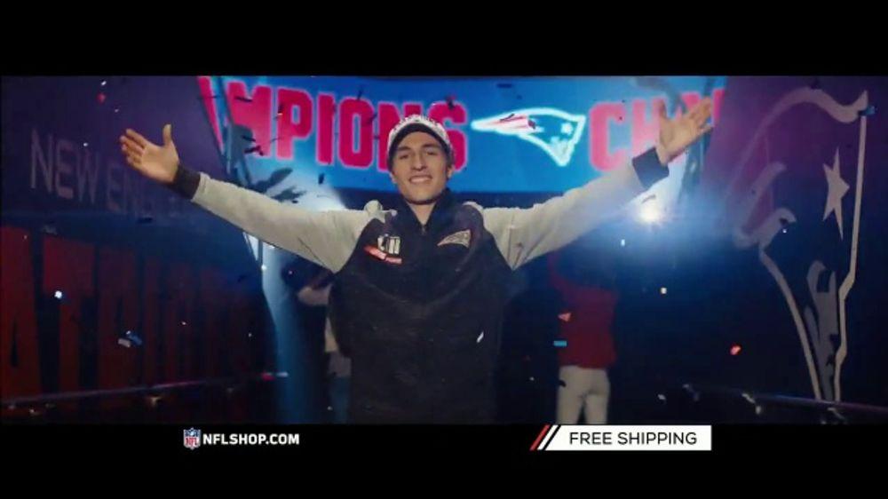 NFL Shop TV Commercial, 'Super Bowl LIII Champs: Patriots'