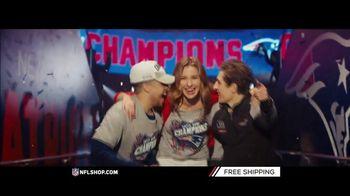NFL Shop TV Spot, 'Super Bowl LIII Champs: Patriots'