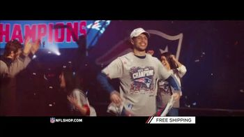 NFL Shop TV Spot, 'Super Bowl LIII Champs: Patriots' - Thumbnail 2