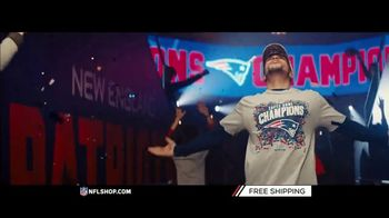 NFL Shop TV Spot, 'Super Bowl LIII Champs: Patriots' - Thumbnail 3