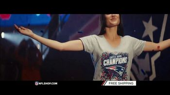 NFL Shop TV Spot, 'Super Bowl LIII Champs: Patriots' - Thumbnail 4