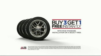 Tire Kingdom TV Spot, 'Buy Three, Get One Free' - Thumbnail 4