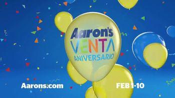 Aaron's Venta de Aniversario TV Spot, 'La celebración está en el aire' [Spanish] - Thumbnail 8
