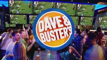 Dave and Buster's TV Spot, 'Big Game: Unlimited Wings & Games' - Thumbnail 1