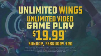 Dave and Buster's TV Spot, 'Big Game: Unlimited Wings & Games' - Thumbnail 5