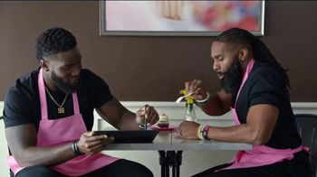 Microsoft Surface Pro 6 TV Spot, 'Sweat, Dedication & Cupcakes' Ft. Brian Orakpo, Michael Griffin - Thumbnail 6