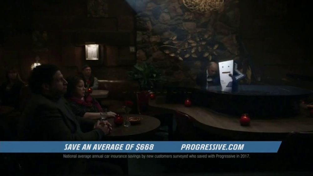 Allstate Motorcycle Insurance >> Progressive Auto Insurance TV Commercial, 'Lounge Act' - iSpot.tv