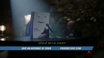 Progressive Auto Insurance TV Spot, \'Lounge Act\'