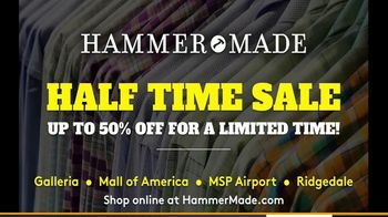 Hammer Made Half Time Sale TV Spot, 'Select Styles Half Off' - Thumbnail 9