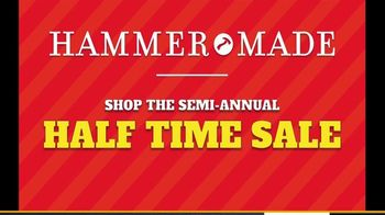 Hammer Made Half Time Sale TV Spot, 'Select Styles Half Off' - Thumbnail 1