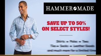 Hammer Made Half Time Sale TV Spot, 'Select Styles Half Off' - Thumbnail 4