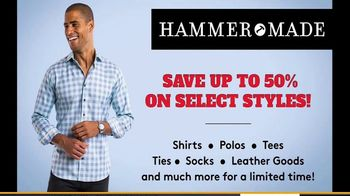 Hammer Made Half Time Sale TV Spot, 'Select Styles Half Off' - Thumbnail 5