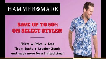 Hammer Made Half Time Sale TV Spot, 'Select Styles Half Off' - Thumbnail 7