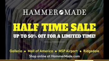 Hammer Made Half Time Sale TV Spot, 'Select Styles Half Off' - Thumbnail 8