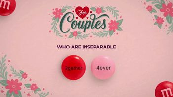Personalized M&M's TV Spot, 'Valentine's Day: For Couples' - Thumbnail 1