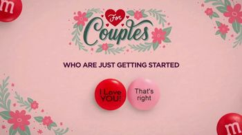 Personalized M&M's TV Spot, 'Valentine's Day: For Couples' - Thumbnail 4