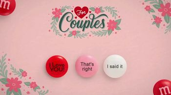 Personalized M&M's TV Spot, 'Valentine's Day: For Couples' - Thumbnail 5