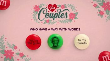 Personalized M&M's TV Spot, 'Valentine's Day: For Couples' - Thumbnail 7
