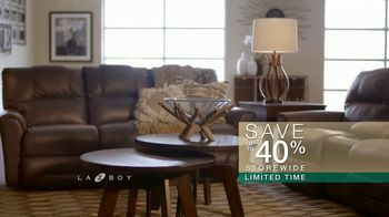 La-Z-Boy Super Saturday Sale TV Spot, 'Up to 40 Percent Off' - Thumbnail 8
