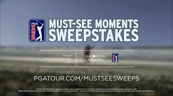 PGA TOUR Must-See moments Sweepstakes TV Spot, 'Inside the Ropes Experience' - Thumbnail 6