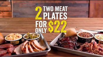Dickey's BBQ 2-Meat Plate TV Spot, 'Double Up' - Thumbnail 9