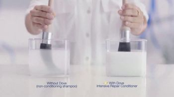 Dove Intensive Repair Conditioner TV Spot, 'Color Test'