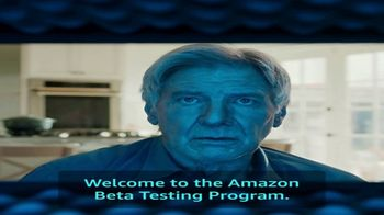 Amazon Super Bowl 2019 Teaser, 'What Is the Amazon Beta Testing Program?' Ft. Harrison Ford