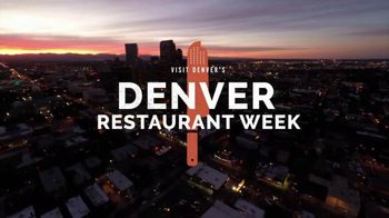 Visit Denver TV Spot, '2019 Restaurant Week' - Thumbnail 2