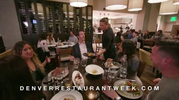Visit Denver TV Spot, '2019 Restaurant Week' - Thumbnail 7