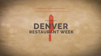 Visit Denver TV Spot, '2019 Restaurant Week' - Thumbnail 9