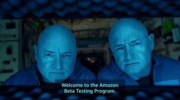 Amazon Super Bowl 2019 Teaser, 'Alexa, What Is the Amazon Beta Testing Program?' Ft. Mark Kelly