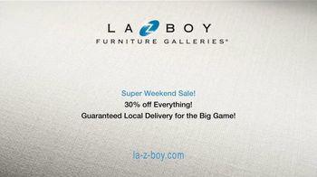 La-Z-Boy Super Weekend Sale TV Spot, 'Delivery for the Big Game' - Thumbnail 8