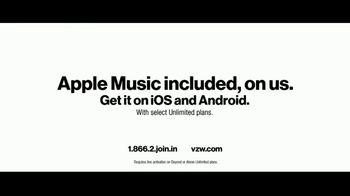 Verizon TV Spot, 'Chosen by Experts: Apple Music' - Thumbnail 10