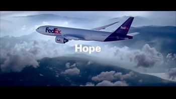 FedEx TV Spot, \'Hope\'