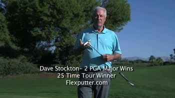 Flex Putter TV Spot, 'Eliminate Common Mistakes' Featuring Dave Stockton - 3 commercial airings