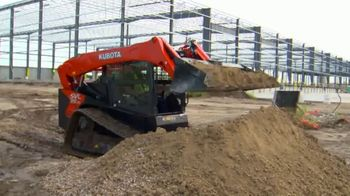 Kubota SVL Trackloaders TV Spot, 'Operate Worry-Free' - Thumbnail 1