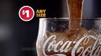 McDonald's $1 $2 $3 Dollar Menu TV Spot, 'Any Size: Soft Drinks' - Thumbnail 6