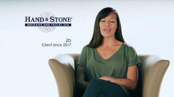Hand and Stone TV Spot, 'Customer Testimonial: Jo: $59.95' - Thumbnail 1