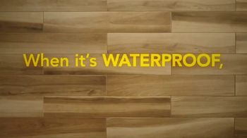 Lumber Liquidators Waterproof Flooring TV Spot, 'Worry-Proof: 20 Percent Off' - Thumbnail 1
