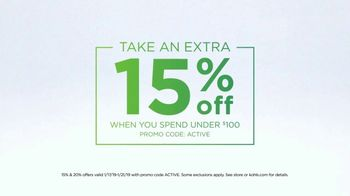 Kohl's TV Spot, 'Stack the Savings: Active Wear, Shoes and Blenders' - Thumbnail 3