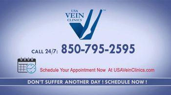 USA Vein Clinics TV Spot, 'Don't Delay Your Visit' - Thumbnail 10