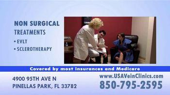 USA Vein Clinics TV Spot, 'Don't Delay Your Visit' - Thumbnail 6