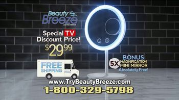 Beauty Breeze TV Spot, 'Lighted Mirror' - Thumbnail 10