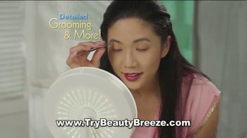 Beauty Breeze TV Spot, 'Lighted Mirror' - Thumbnail 4