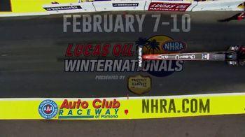 NHRA TV Spot, '2019 Lucas Oil Winternationals' - Thumbnail 9