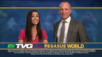 TVG Network TV Spot, 'Pegasus World Cup: 50/1 Odds'