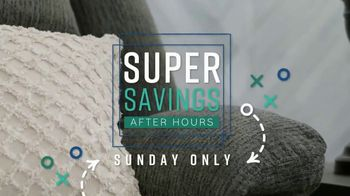 Ashley HomeStore Super After Hours Event TV Spot, 'Sunday Only' - Thumbnail 8