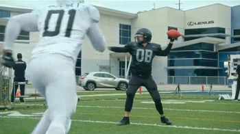 Lexus UX TV Spot, 'Quarterback Safety System+' Featuring Matt Leinart [T1] - Thumbnail 1
